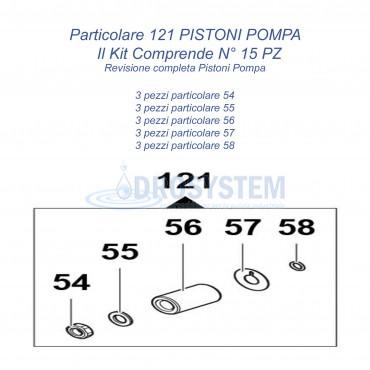 Kit Pistoni D.18 Comet 2409007200