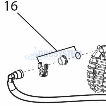KIT Fermo tubi motore LAVOR 6.605.0223