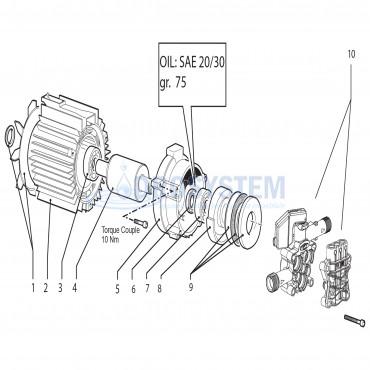 KIT LAVOR 8.102.0001 Esploso Motopompa