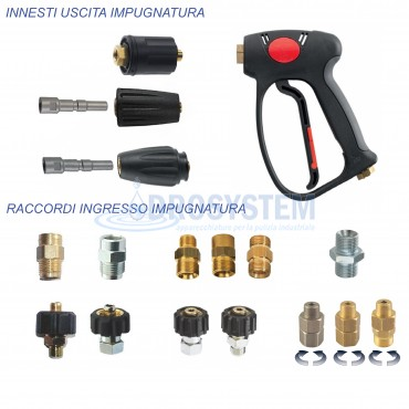 Kit Accessori Pistola Professionale ML 955 Giunto Girevole