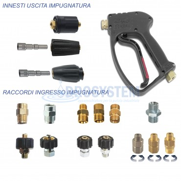 Kit Accessori Pistola Professionale RL 30