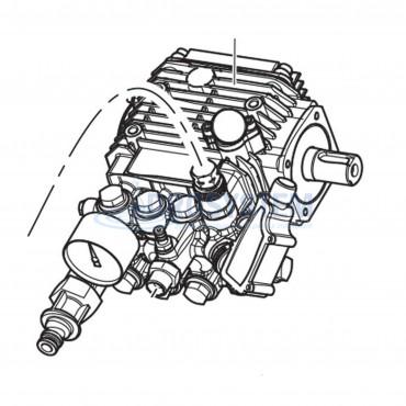 Pompa Alta Pressione COMET LW-K 2520 S-6300115300