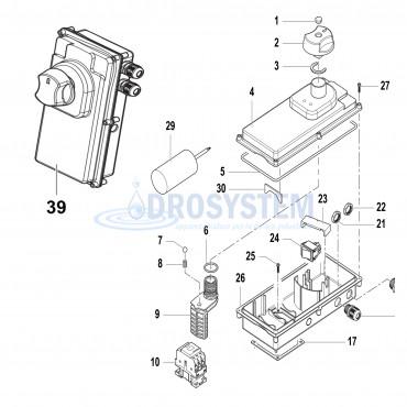 KIT COMET 90570002 K 250-150/10M CLASSIC BOX ELETTRICO